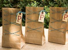 DIY Paper Bag Gift Bags/ Moonfrye