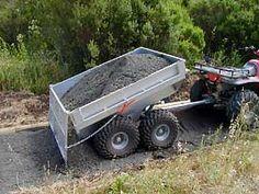 self-dumping trailer