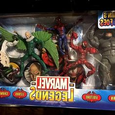 On today s Spot, we ll be having a look at the Marvel Legends Spiderman Fearsome Foes boxed set. Marvel Legends Vulture Review MY NEWS CHANNEL. Vulture from the Marvel Legends Spider-man. #hero #kids #SpiderMan #toys #Marvel #figurines #Collectibles #gifts