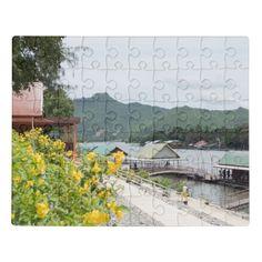 #thailand #puzzle #landschaft #landscape #BabettsBildergalerie Thailand, Puzzle, Land Scape, Pure Products, Nature, Painting, Metal Box, Map Invitation, Unique Gifts