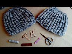 Как я шапочки вяжу:))) - YouTube