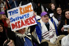 """82 Rabbis, Activists Arrested On Capitol Hill Over DACA Protest """"This is no time for business as usual,"""" said one rabbi who was among those arrested Wednesday."""