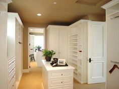 Not a Walk-In Closet. A Walk-Thru Closet. | HGTVRemodels.com
