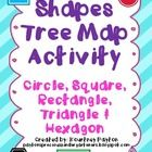 Shapes Cooperative Group Activity - pages) - This shapes freebie is a cooperative group lesson or total group lesson to make a tree map of the characteristics of shapes. It includes circle, square, hexagon, rectangle, and triangle. 1st Grade Math, Kindergarten Math, Teaching Math, Maths, Preschool Math, Grade 2, Teaching Ideas, Map Activities, Math Resources