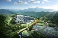 Korea Hydro Nuclear Headquarters by Haeahn Architecture