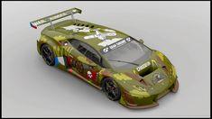 "Lamborghini Huracan GT3 ´15. Livery ""johnyital"" by CZEzigi."