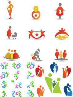 Little people logo design Flat Design Icons, Icon Design, Teamwork Logo, Create Icon, Family Logo, Church Logo, People Logo, Kids Logo, Symbol Logo