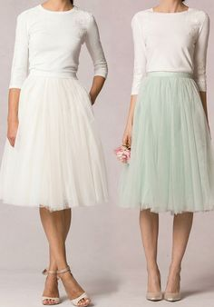 Jenny Yoo Collection (Maids) Lucy Skirt Bridesmaid Dress