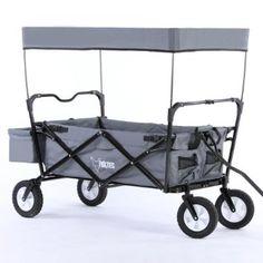 Inspirational GRAU Bollerwagen klappbar JW A Handwagen Leiterwagen Strandwagen mit Sonnendach faltbar Transportwagen
