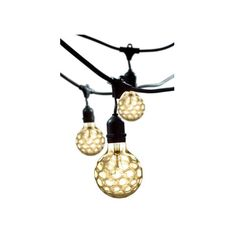 Bulbrite Black 48 Ft Outdoor String Light ($105) ❤ liked on Polyvore featuring home, outdoors, outdoor lighting, outdoor string light, string light, outdoor string lights, outdoor party lights and black outdoor lights