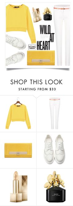 """""""Yoins"""" by yoinscollection ❤ liked on Polyvore featuring Burberry and Marc Jacobs"""
