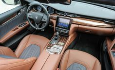 Updated 2017 Maserati Quattroporte First Drive! - Photo Gallery of First Drive from Car and Driver - Car Images - Car and Driver