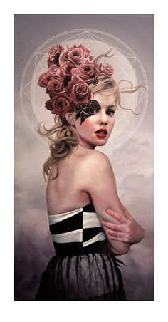 She Who Blessed With Second Sight, by Melissa Forman. Is it just me or she looks like Lana Del Rey?