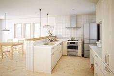 クラッソ L型キッチン TOTO