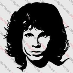Pegame.es Online Decals Shop  #music #celebrity #band #realistic #jim_morrison #doors #vinyl #sticker #pegatina #vinilo #stencil #decal