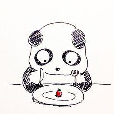【一日一大熊猫】2017.2.12 食べない生活、という記事を読んだ。 ほうほう、食べないで済むならコストと時間が楽になるなぁ。 と思いながらも、僕は食べたいんです。 美味しいものを腹一杯食べたいんです。 #パンダ #食べたい
