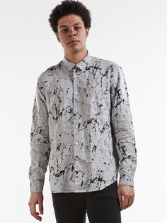 Our Legacy Hemd First Shirt Cracked Linen