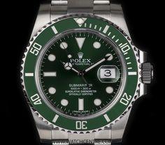 http://www.watchcentre.com/product/rolex-s-s%C2%A0unworn%C2%A0o-p-green-bezel%C2%A0hulk%C2%A0submariner-date-bp-116610lv/4909 #rolex #submariner #hulk #watches #lux #timepiece #watchcentre #mayfair
