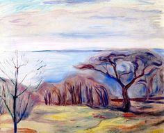 bofransson: Spring Landscape Edvard Munch - 1905