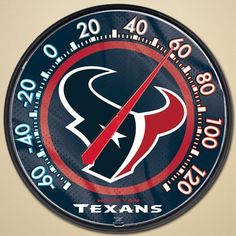 NFL Houston Texans Thermometer