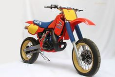 Honda old school supermoto