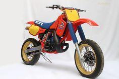 Honda old school supermoto