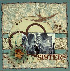 SISTERS friends ***Swirlydoos*** - Scrapbook.com