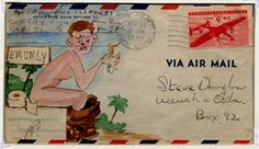 Stephen Douglas World War Two Envelopes, 1943-1945