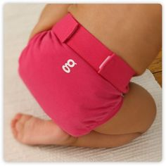 goddess pink gPants, soft cotton diaper covers for baby girls by gDiapers