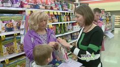 Spectrum Health offers grocery store tours to help families learn how to make healthier selections.