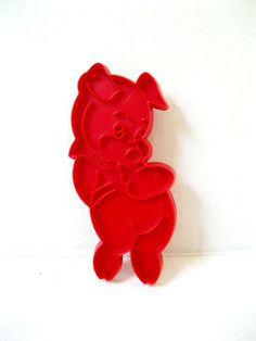 1970's Pig Cookie Cutter by 26Vintage on Etsy, $4.50