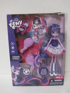 Never Grow Up: A Mom's Guide to Dolls and More!: My Little Pony Equestria Girls Twilight Sparkle Doll and Pony Set Review