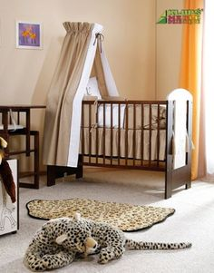 Detská izbička Safari Žirafa - komplet Klups