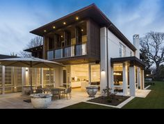 Modern home by Bruns Architecture home luxury modern lifestyle