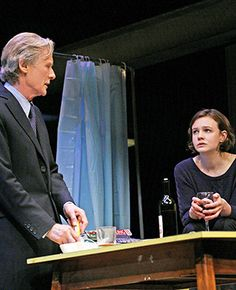 "The Broadway revival of ""Skylight"" will include its London stars, Bill Nighy and Carey Mulligan. London Theatre, Theatre Stage, Theater, Arts Theatre, Wrath Of The Titans, Tony Nominations, National Theatre Live, The Constant Gardener, Tony Winners"