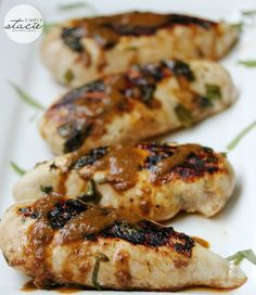 Grilled Herb Chicken- So juicy and flavorful! It's made with fresh herb & veggies marinade.
