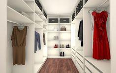 Luxury Begehbarer Kleiderschrank