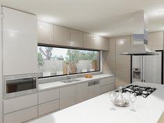 64 Ideas Kitchen Layout Big Stove For 2019 Kitchen Living, New Kitchen, Kitchen Decor, Luxury Kitchen Design, Interior Design Kitchen, Cuisines Design, Kitchen Layout, Kitchen Countertops, Design Case