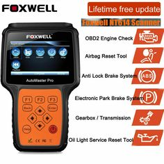 Foxwell NT520 Pro Multi-System Scanner For Mercedes BMW Porsche with