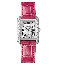 I'm loving it - the Valentine's edit - DisneyRollerGirl. Cartier Tank Anglais white gold and diamond (a girl can dream, right?)