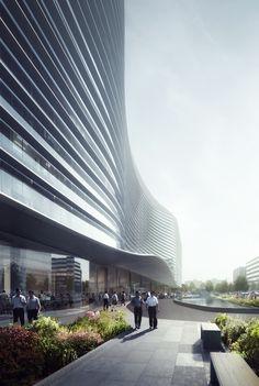 """画廊 Aedas的""""无限""""北京新浪总部设计正式开工 - 2"""