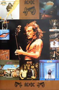 Rock And Roll Bands, Rock N Roll, Acdc Albums, Hard Rock, Cd Album Covers, Ac Dc Rock, Bon Scott, Angus Young, Best Rock