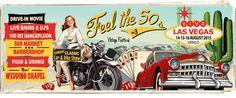 Feel the 50's. 14-15-16 August 2015. VENLO.