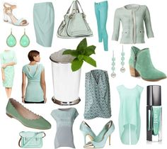 """""""currently coveting::mint julep"""" by glitterinthegrey ❤ liked on Polyvore"""