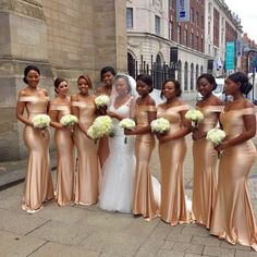 Dark Champagne Satin Mermaid Bridesmaid Dresses Off Shoulder Long Wedding Guest Dress Party Wedding For Women Vestido Madrinha Cheap Bridesmaid Dresses Online, Champagne Bridesmaid Dresses, Mermaid Bridesmaid Dresses, Gold Bridesmaids, Prom Dresses, Bridesmaid Outfit, Flowergirl Dress, African Bridesmaid Dresses, Lilac Bridesmaid