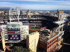 April 4, 2016 - Opening Day at Petco Park, the home of the San Diego Padres. It's a gorgeous day for baseball.