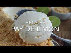 Helado pay de limón (pie de limón) sin máquina