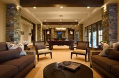 Finshed Basements Design, Pictures, Remodel, Decor and Ideas