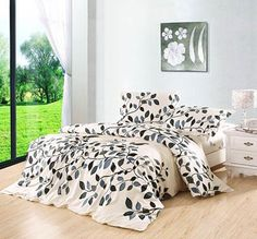 100% Cotton Home Loving 4-Piece Bedding Sets - Shelayer.com Cheap Bedding Sets, Bedding Sets Online, Beds Online, Discount Bedding, Comforters, Blanket, Cotton, Furniture, Home Decor