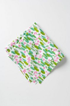 Bloom & Twig Napkin from Anthropologie